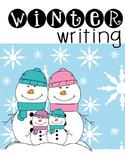 Winter Writing Literacy Unit