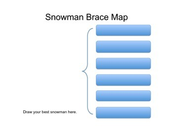 Winter Writing Maps