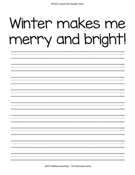 Writing Prompt: Winter