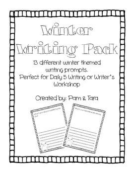 Winter Writing Pack