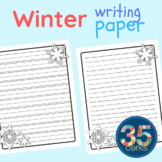 Winter Writing Pages - 12 Days of Freebies - #6