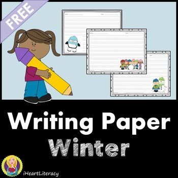 Writing Paper Winter