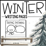 Winter Writing Pages - Creative Writing Prompts