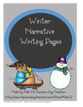 Winter Writing Pages (Narratives)