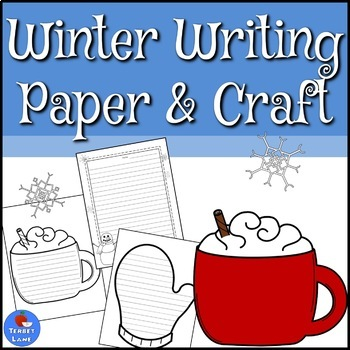 Winter Writing Pages and Craft
