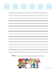 FREE Winter Writing Paper