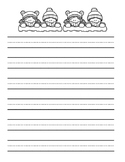 Winter Writing Paper - FREEBIE