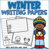 Winter Writing Paper Pack