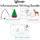 Winter Informational Writing Bundle