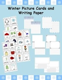 Winter Writing Picture Cards and Paper Center