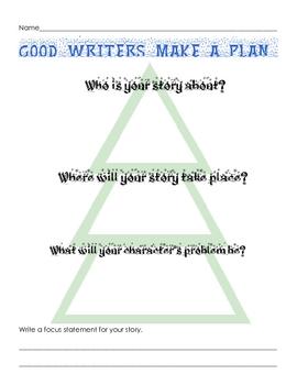 Winter Writing Plan