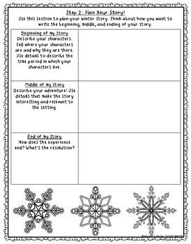 Winter Writing Project