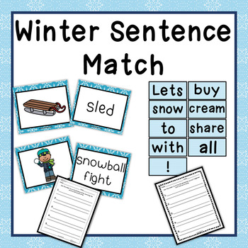 Winter Writing Prompt Activities