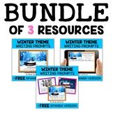 Winter Writing Prompt Bundle