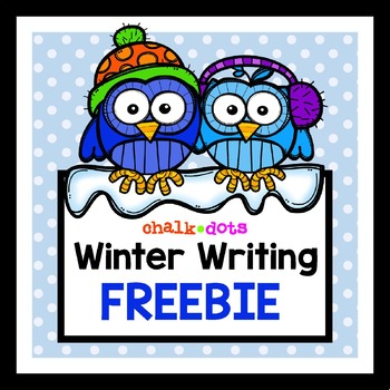 Winter Writing Prompt FREEBIE
