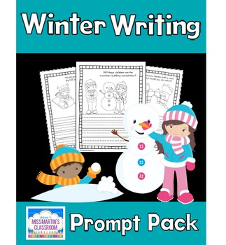 Winter Writing Prompt Pack