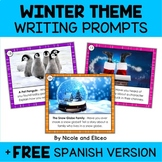 Winter Writing Prompt Task Cards