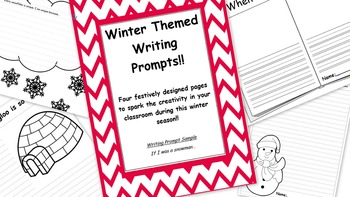 Winter Writing Prompts!!