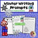 Winter Writing Prompts w/bonus Winter Writing Papers