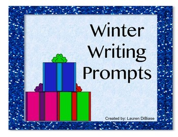 Winter Writing Prompts!
