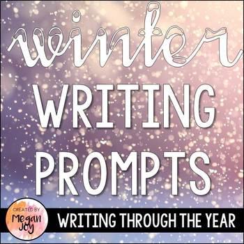 Winter Seasonal Journal Writing Prompts