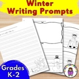 Winter Writing Prompts for Kindergarten, First and Second Grade