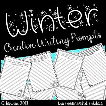 Winter Themed Creative Writing Prompts