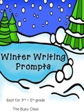 Winter Writing Prompts (3-5)