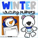 Winter Writing Prompts | Snowman Writing Craftivity