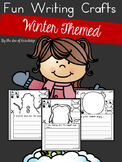Winter Writing Prompts - Build a Funny Face Crafts
