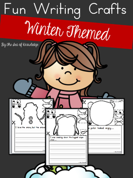 Winter Writing Prompts Build a Funny Face Crafts