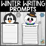 Winter Writing Prompts   Craftivity   Kindergarten to 2nd Grade