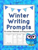 Winter Writing Prompts: Grades 1-2