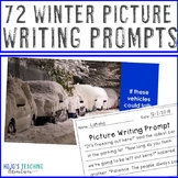 Winter Writing Prompts for December, January, & February - Snow, Valentines Day+