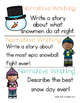 Winter Writing Prompts - Informational, Narrative, & Opinion Writing