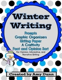 Winter Writing {Prompts, Organizers, Paper, a Craftivity, and More}