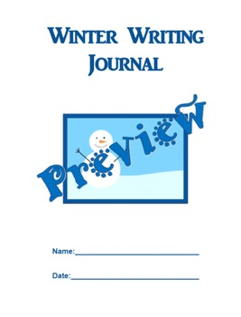 Winter Writing Journal: Outlining and Writing Paragraphs
