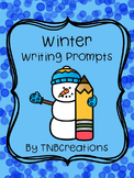 Winter Writing Prompts Worksheets