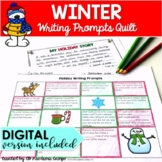 Winter Writing Prompts Choice Board for Middle School DIGI