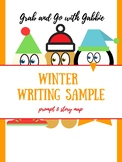Elf & Gingerbread Winter Writing Prompt & Story Map Sample