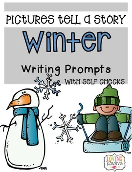 Winter Writing Prompts (Series)