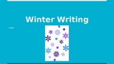Winter Writing Prompts/Slides