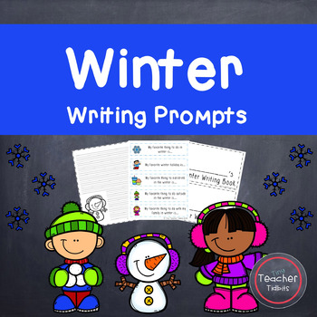 Winter Writing Prompts {Winter Writing Pages Included!}