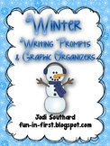 Winter Writing Prompts and Graphic Organizers