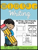 Winter Writing Prompts for Grades 1-2