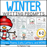 Winter Writing Prompts for Kindergarten, First Grade and S