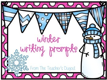 Winter Writing Prompts in a Jar