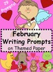 Winter Writing Prompts on Themed Paper {Just Print & Go!}