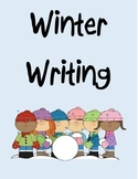 Winter Writing Prompts with Graphic Organizer