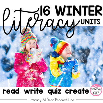 Reading and Fluency with Coordinating Writing and Art- Literacy All Year- Winter